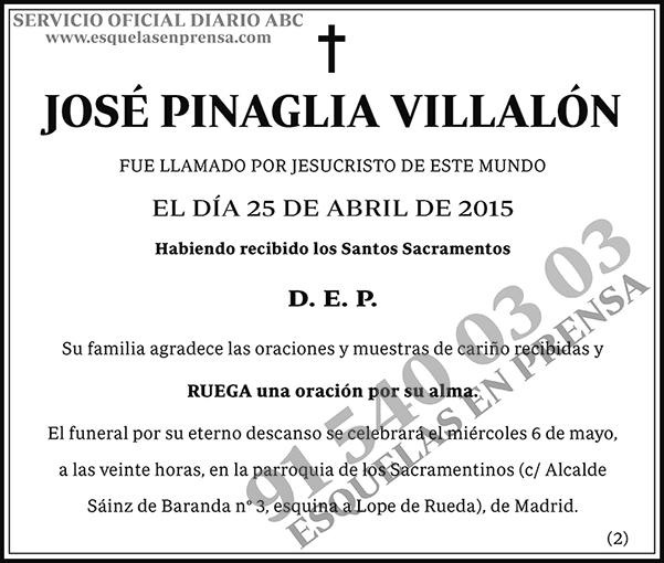 José Pinaglia Villalón